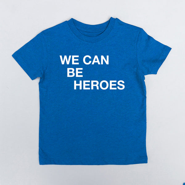 We Can Be Heroes Blue xx 5-6 & 12 - 14 yrs left xx