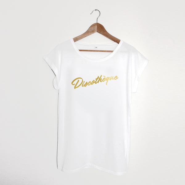 Discothèque Ladies White / Gold