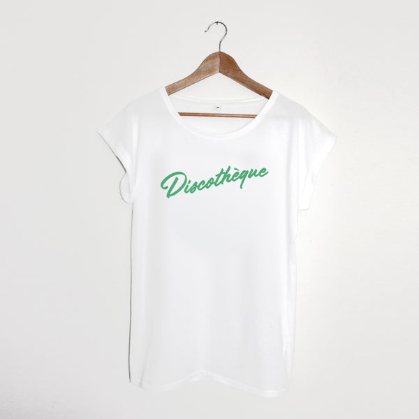 Discothèque Ladies White / Green xx Small left xx