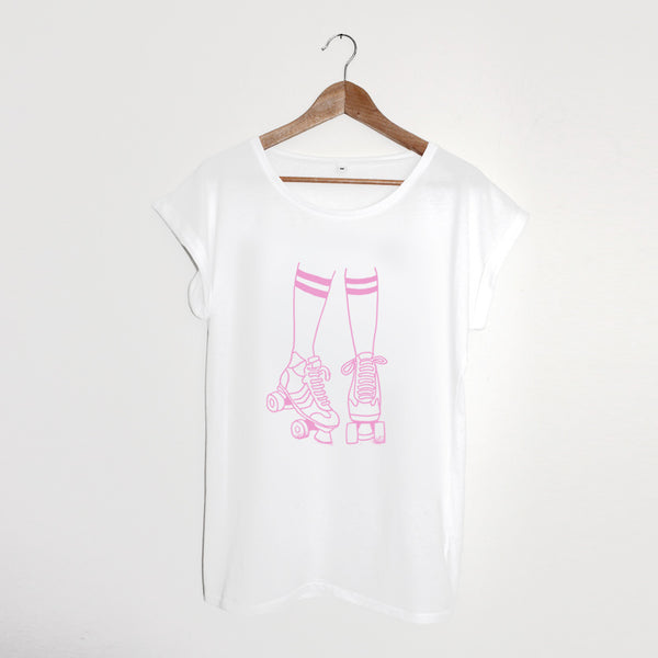 Roller Disco Ladies White / Pale Pink