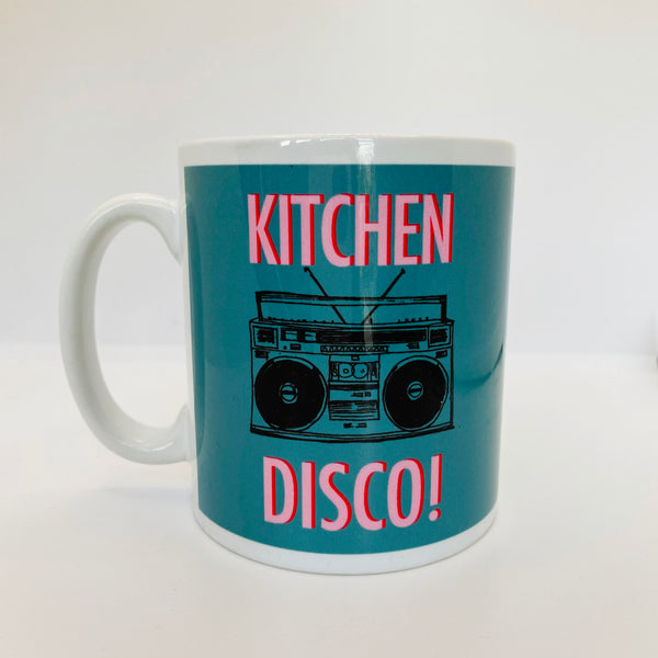 Kitchen Disco Mug Teal