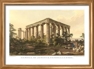 Edward Dodwell: Temple of Jupiter Panhellenios