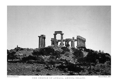 Heinrich Beck: The Temple of Aphaia, Aegina Island-Ariston Books