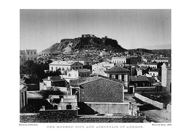 Heinrich Beck: The modern city and Acropolis of Athens-Ariston Books