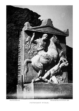 Heinrich Beck: Funerary stele-Ariston Books