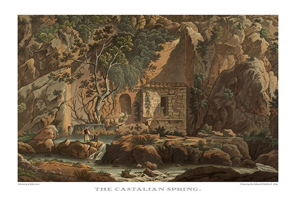 Edward Dodwell: The Castalian Spring-Ariston Books