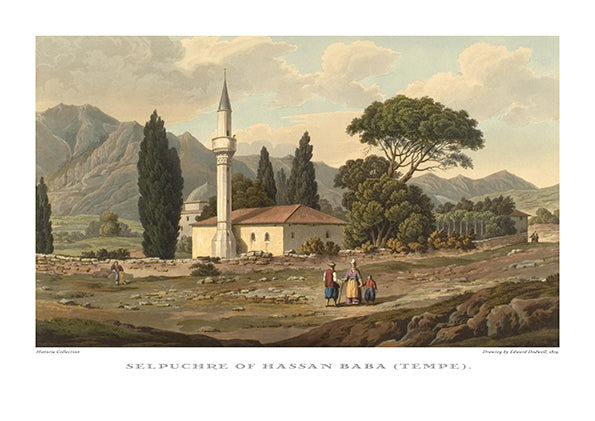 Edward Dodwell: Sepluchre of Hassan Baba (Tempe)-Ariston Books