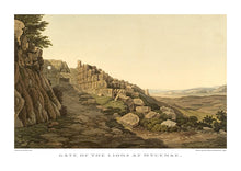 Edward Dodwell: Gate of the Lions at Mycenae-Ariston Books