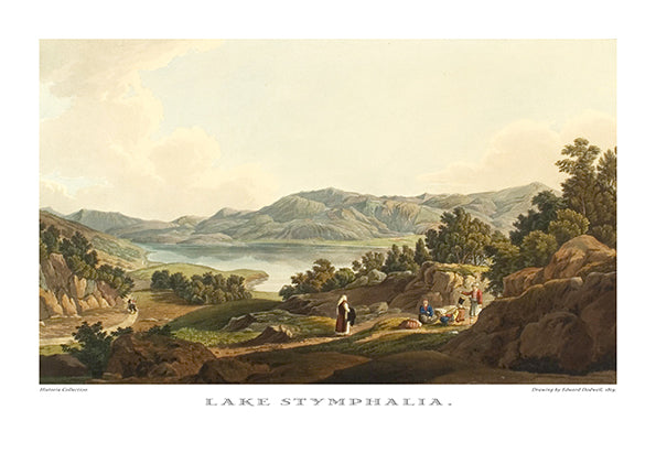 Edward Dodwell: Lake Stymphalia-Ariston Books