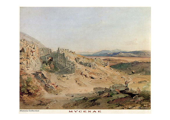 Carl Rottmann: Mycenae -Ariston Books