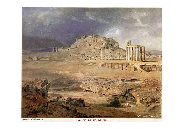 Carl Rottmann: Athens-Ariston Books