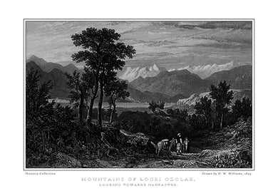 H. W. Williams: Mountains of Locri Ozolae, looking towards Naupactus-Ariston Books