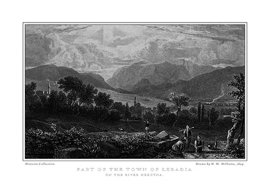 H. W. Williams: Part of the town of Lebadia on the river Hercyna-Ariston Books