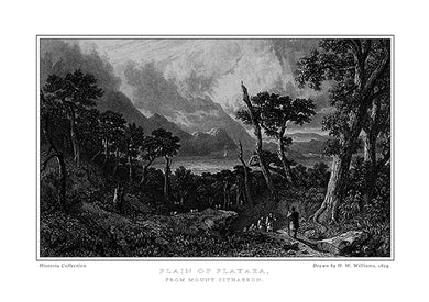 H. W. Williams: Plain of Plataea, from Mount Cithaeron -Ariston books