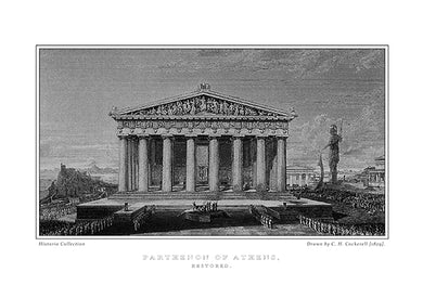 H. W. Williams: Parthenon of Athens, restored-Ariston Books