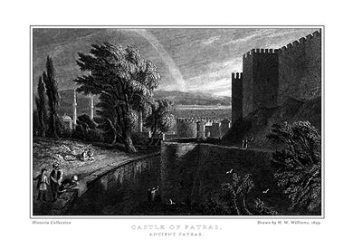 H. W. Williams: Castle of Patras, ancient Patrae-Ariston Books