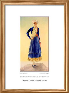 Nicholas Sperling: Greek traditional costume, Woman's town costume, Psara