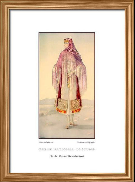 Nicholas Sperling: Greek traditional costume, Bridal dress, Kastelorizo