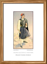 Nicholas Sperling: Greek traditional costume, Peasant's costume, Kerkyra
