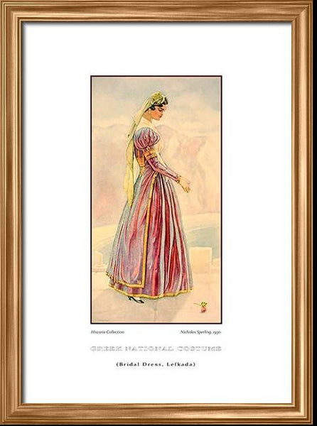 Nicholas Sperling: Greek traditional costume, Bridal dress, Lefkada
