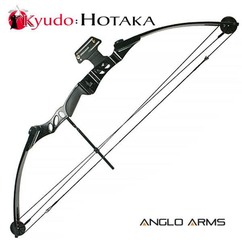 55lb Black Hotaka Compound Bow