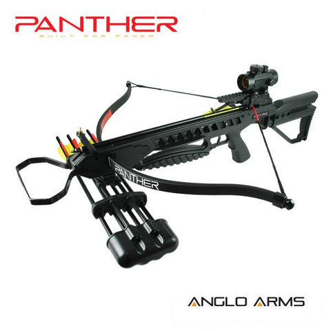 175lb Black Panther Preppers Crossbow Kit