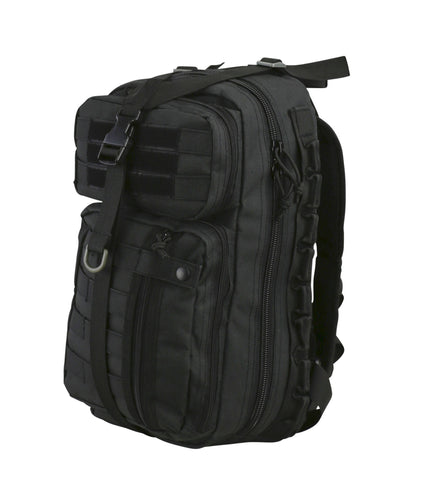 Delta Pack UK Recon and Bug Out Bag in Black