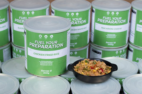 Chicken Fried Rice- Freeze Dried Tin