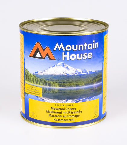 Mountain House Macaroni Cheese Freeze Dried Tins