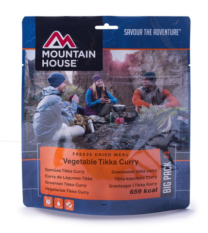 Mountain House Vegetable Tikka and Rice Freeze Dried Pouch