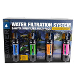 Sawyer MINI Water Filtration System - 4 Pack