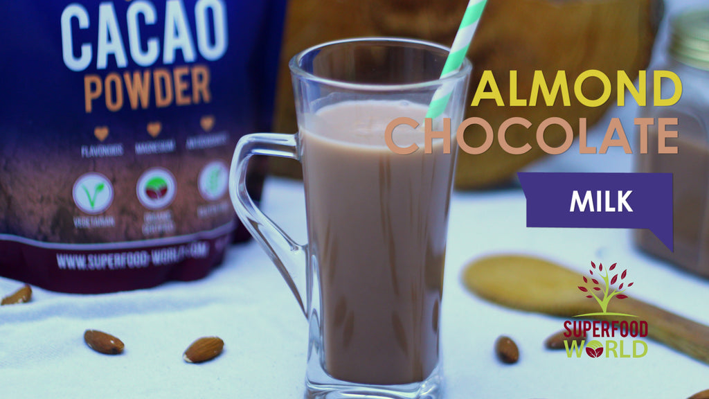 Almond Chocolate Milk Recipe