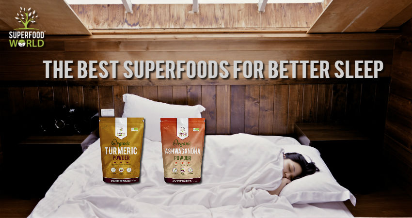 The Best Superfoods for Better Sleep