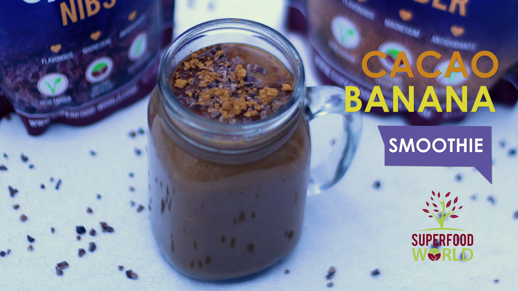 Classic Cacao Banana Smoothie Recipe