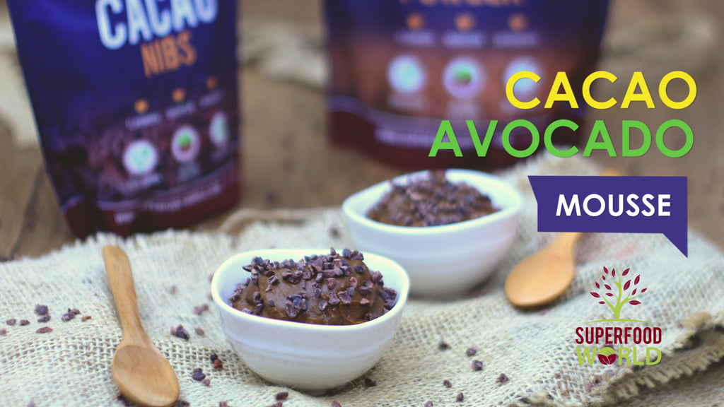 Cacao Avocado Mousse Recipe