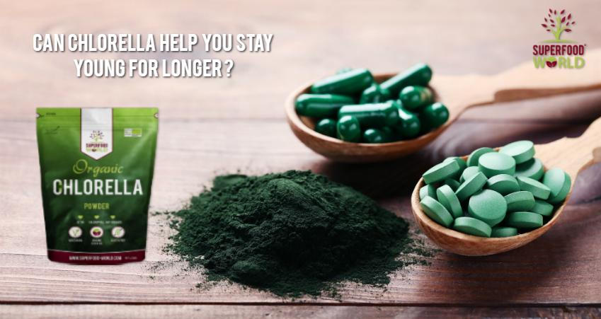 Can Chlorella Help You Stay Young for Longer?