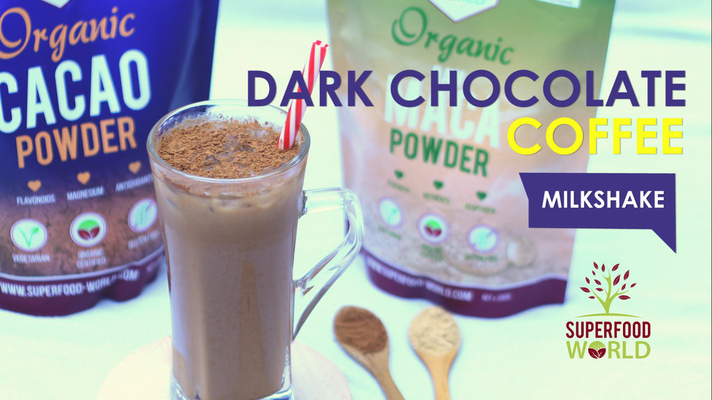 Dark Coffee Chocolate Milkshake Recipe