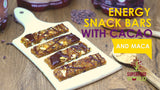 Energy Snack Bars with Cashews, Sesame Cacao and Maca Recipe
