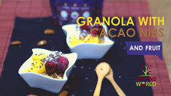 Granola with Fruits and Cacao Nibs Recipe