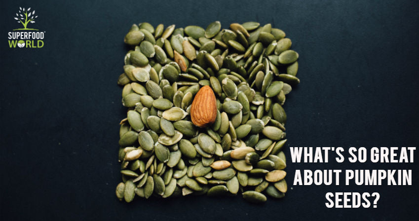 What's So Great About Pumpkin Seeds?