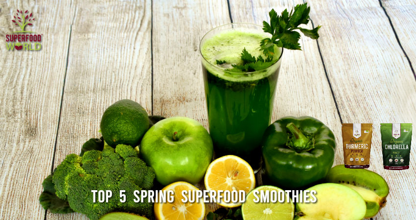 Top 5 Spring Superfood Smoothies
