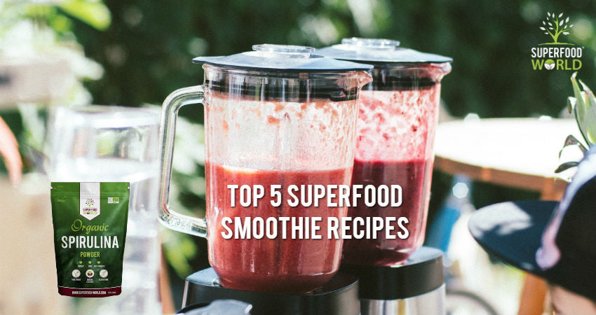 Top 5 Superfood Smoothies