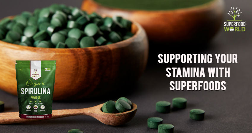 Supporting Your Stamina with Superfoods