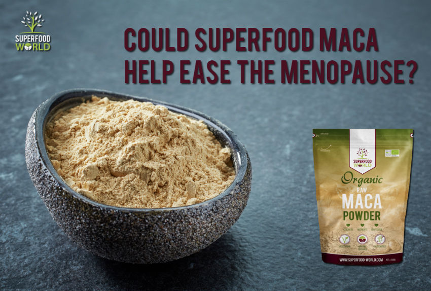 Could Superfood Maca Help Ease the Menopause?