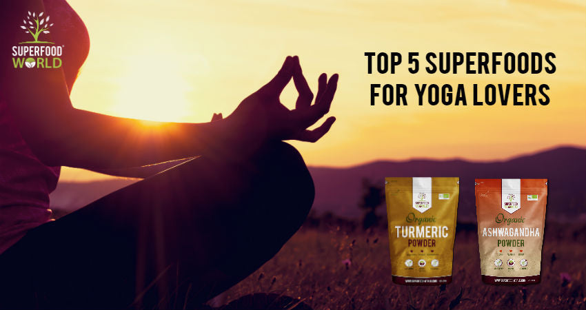 Top 5 Superfoods for Yoga Lovers