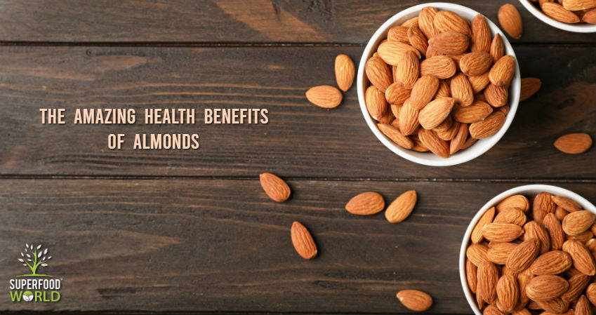 The Amazing Health Benefits of Almonds