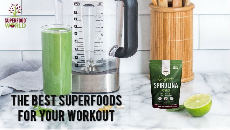 The Best Superfoods for Your Workout