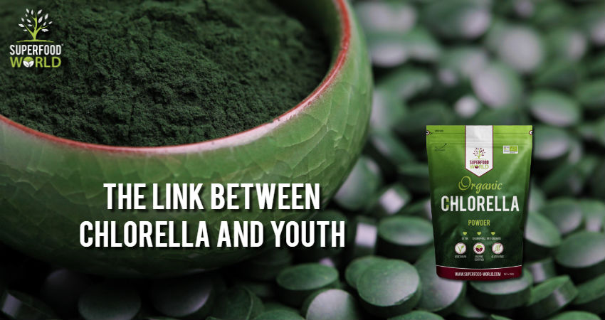 The Link between Chlorella and Youth