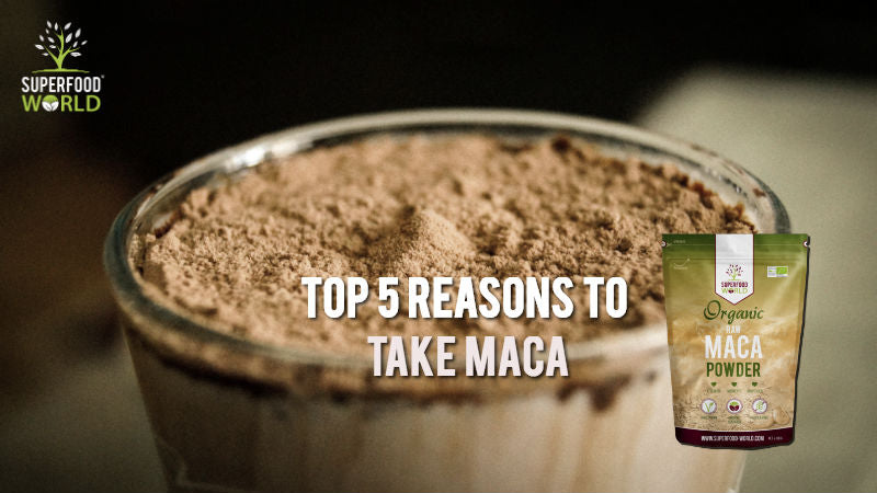 Top 5 Reasons to Take Maca