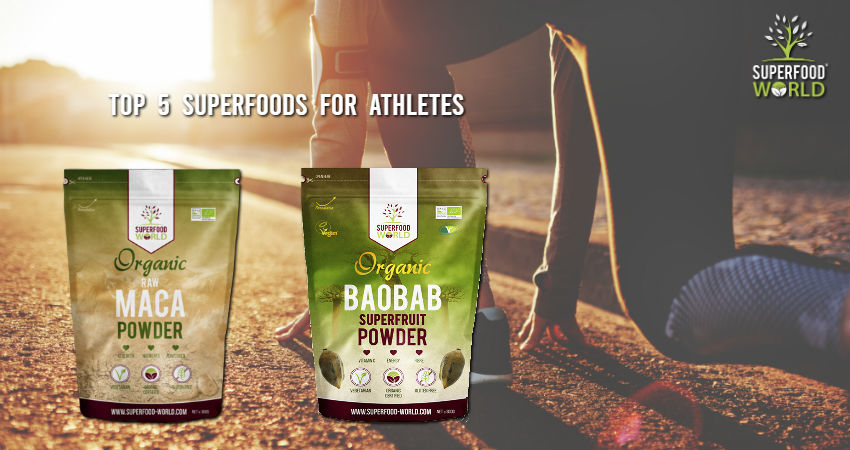 Top 5 Superfoods for Athletes
